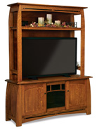 Boulder Creek 2 Piece TV Stand
