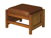"20"" Cubic Panel Foot Stool"