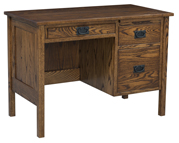 "42"" Post Mission Flat Top Desk"