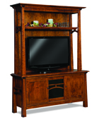 Artesa 3 Door 2 Piece Media Cabinet