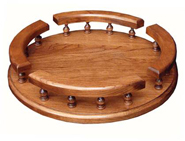 "12 & 16"" Lazy Susan with Rail"
