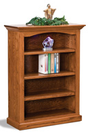 Hoosier Heritage 3 Shelf 4' Bookcase