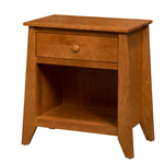 Berwick 1 Drawer Open Night Stand