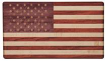 Exotic Wood Flag Cutting Board