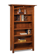 Artesa 5 Shelf 6' Bookcase