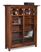 Artesa 8 Shelf, 2 Door Bookcase