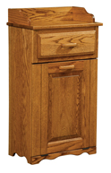 Top Drawer Tilt Out Trash Bin