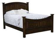 Bow Panel Bed