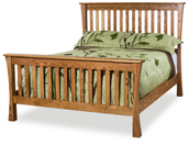 Trestle Slat Bed