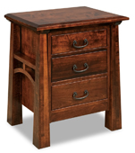 Artesa 3 Drawer  Night Stand