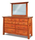 "Artesa 69"" 9 Drawer Dresser"
