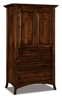 Carlisle  3 Drawer 2 Door Armoire