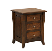 Berkley 3 Drawer Nightstand