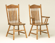 Bent Paddle Post Dining Chair