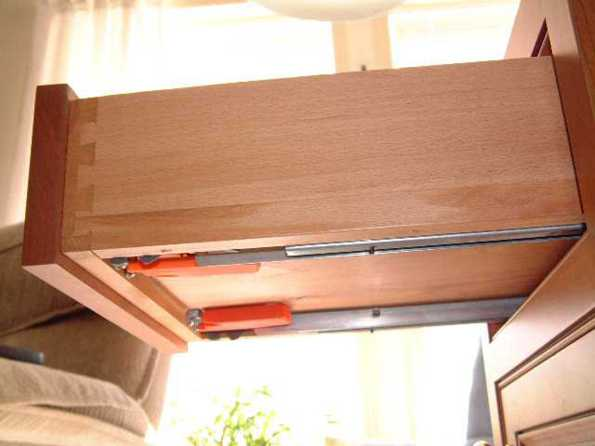 How Amish Furniture Drawer Glides Work Amish Furniture