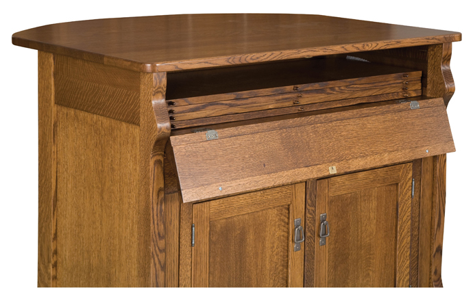Frontier Island storage buffet/table from Amish Furniture Factory