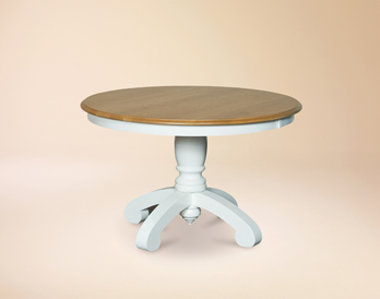 Single pedestal table base Amish Furniture Factory