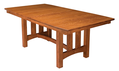 A Discussion of Various Base Styles for Your Dining Room Table