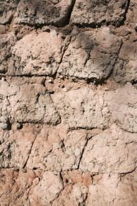 Old adobe wall