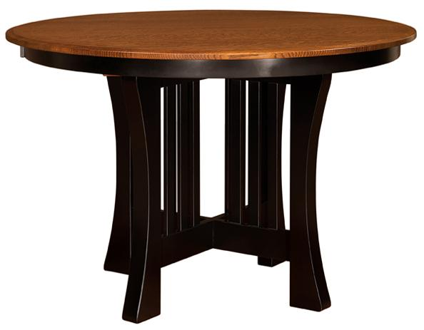 Arts and Crafts Pub Table from Amish Furniture Factory