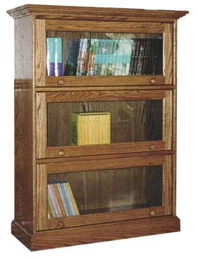 Traditional Barrister Bookcase from Amish Furniture Factory