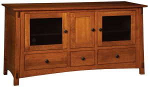 The McCoy TV Stand from Amish Furniture Factory