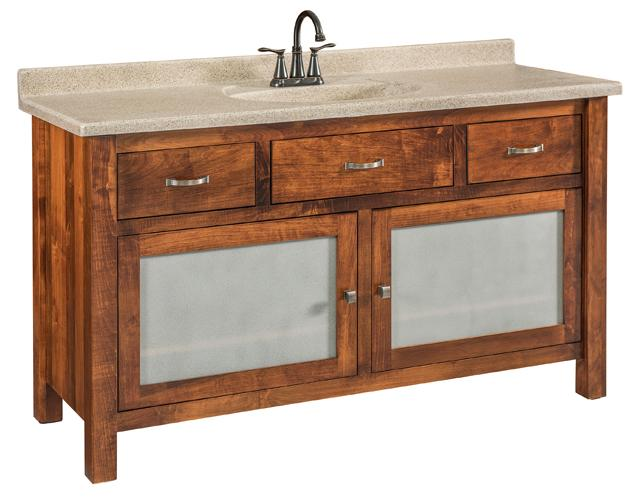"""Amish Regal 59"""" Wash Stand"""