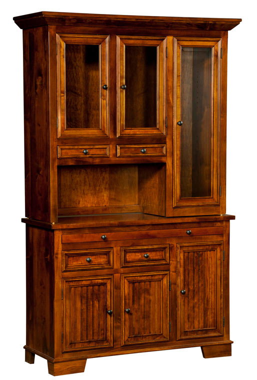 The Bradbury 3 Door Hutch from Amish Furniture Factory