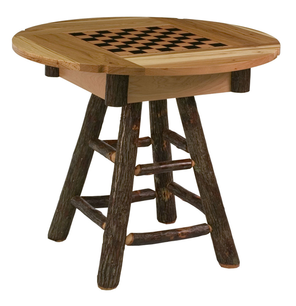You can get an outdoor finish on this Country Delight Game Table