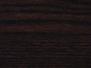 Dark-colored stains look bold on brown maple's silky smooth texture.