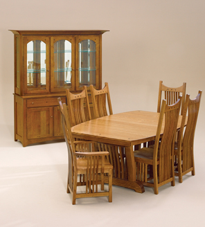 Superbe Although There Are Nearly A Dozen Different Types Of Amish Furniture, Two  Of The Most Popular Are The Mission And Shaker Styles.