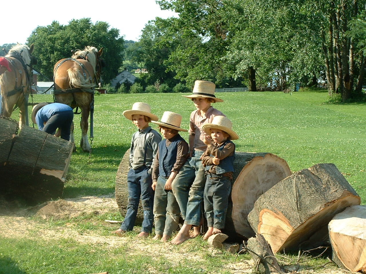 Amish Fashion and Clothing Attire - Amish Furniture Factory