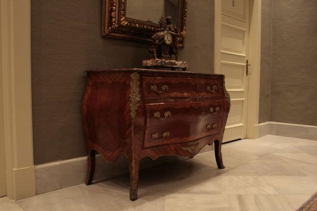 wood vintage file cabinet