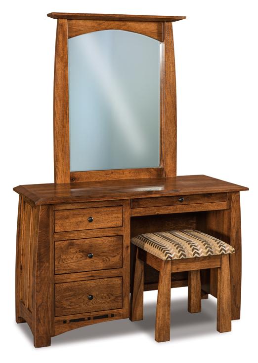 Boulder Creek Vanity Dresser Amish Furniture Factory