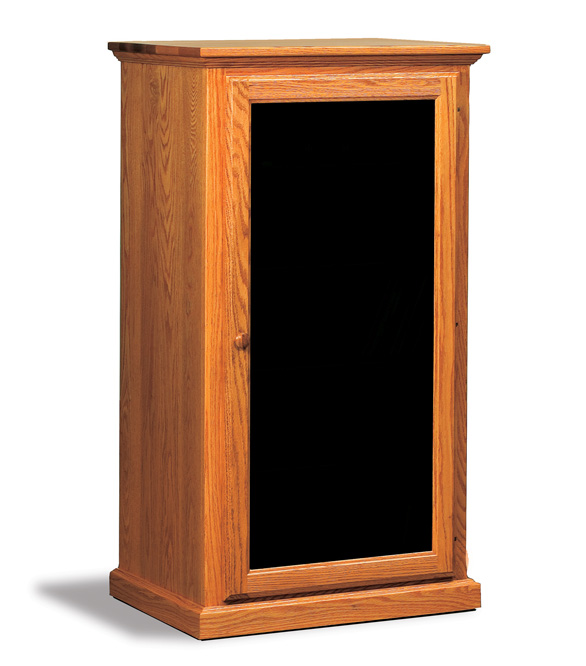 Classic Solid Wood Stereo Cabinet Wooden Audio Cabinet Amish Furniture Factory
