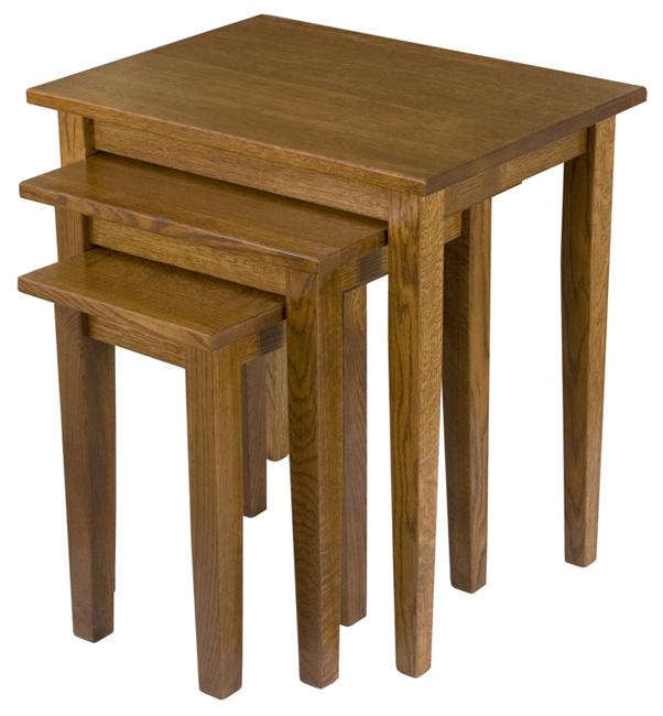 Set 3 shaker leg nesting tables watchthetrailerfo