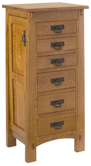 large modesto jewelry armoire amish furniture factory. Black Bedroom Furniture Sets. Home Design Ideas