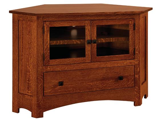 Mission 050c 49 Quot Corner Tv Stand Amish Furniture Factory