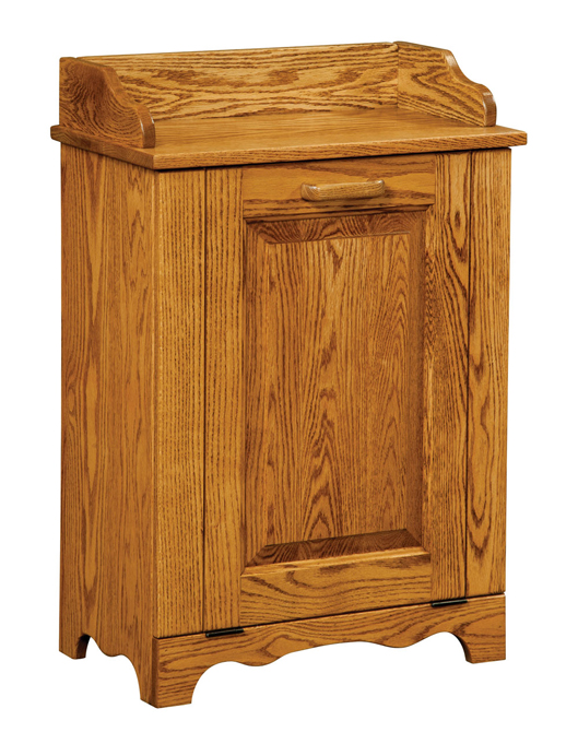 Standard tilt out trash bin amish furniture factory amish furniture factory - Amish tilt out trash bin ...