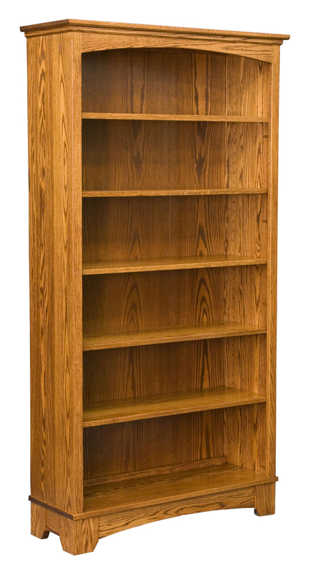 72 Quot Noble Mission Bookcase Amish Furniture Factory