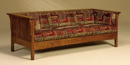 Cubic Slat Sofa