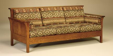 High Back Panel Sofa