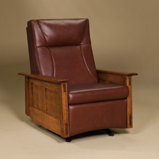 Mccoy Recliner Amish Furniture Factory Amish Furniture