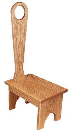 Oak Bench Handle Amish Furniture Factory Amish
