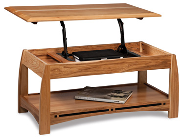 Amish Boulder Creek Lift Top Coffee Table