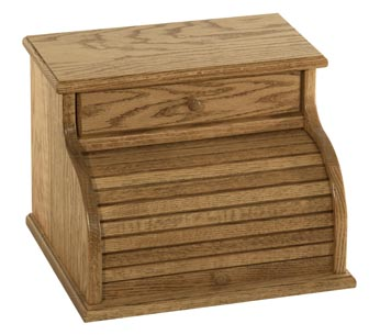 Roll Top Bread Box Plans http://www.amishfurniturefactory.com/amish-oak-roll-top-bread-box-with-drawer.html