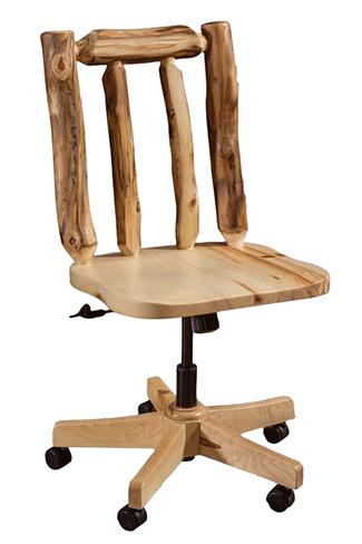 Fireside Rustic Desk Chair