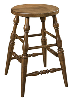 Scoop Bar Stool Amish Furniture Factory Amish