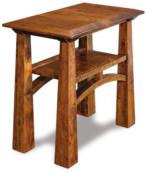 Artesa Open Chair Side End Table