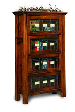 Artesa 4 Door Barrister Bookcase